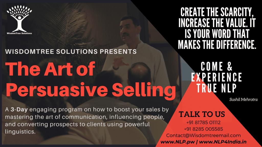 Art of Persuasive Selling