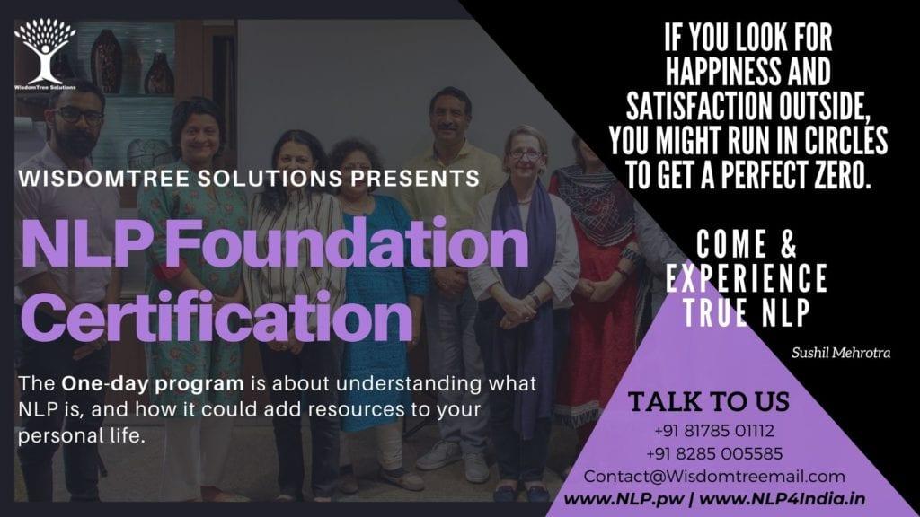 NLP Foundation Certification