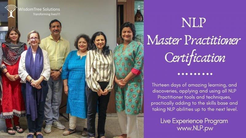 NLP Master Practitioner Certification art