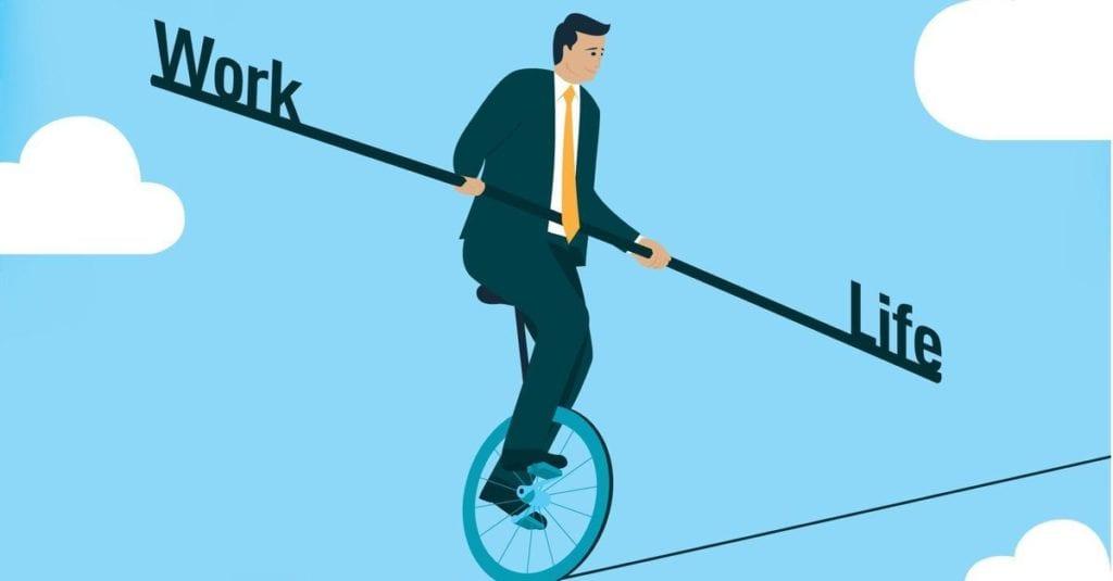 Maintaining work life balance through NLP