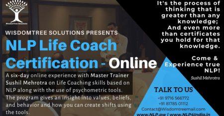 NLP Life Coach Certification Online